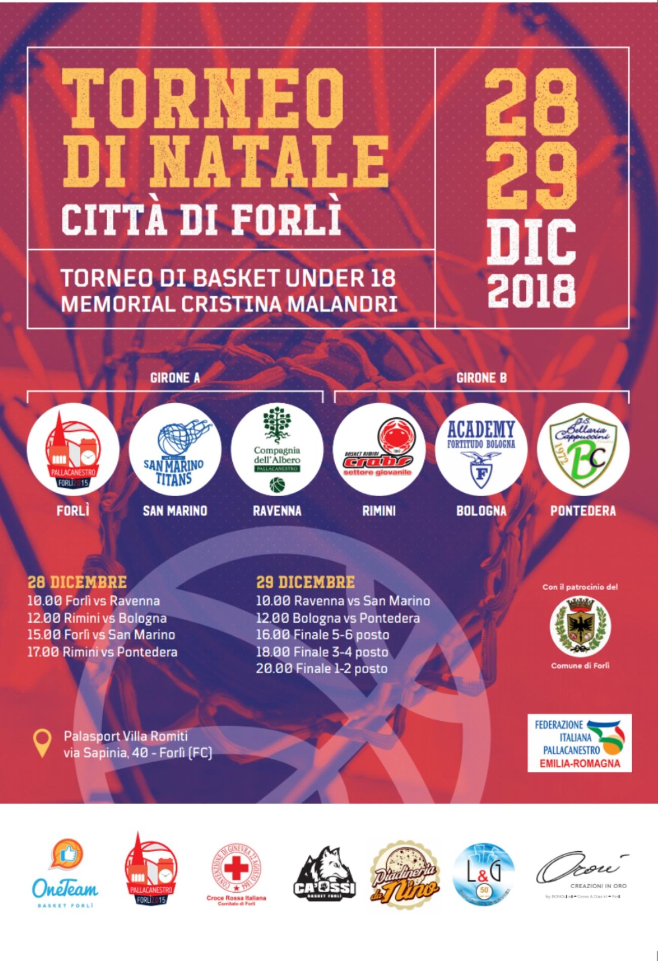 torneo-under-18-forlì-primo-memorial-cristina-milandri